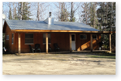 White Pine lodge cabins can accomodate your next trip